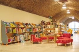 Biblioteca degli Intronati Siena, Sezione bambini e ragazzi