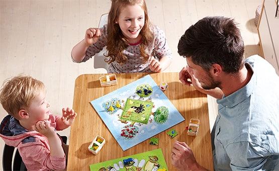 A casa con i bambini: è tempo di giochi in famiglia